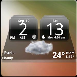 MIUI Dark Digital Weather CL. 4.2.4 Icon
