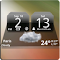 MIUI Dark Digital Weather CL. 4.2.4 Apk