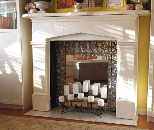 DIY Craft Fireplace