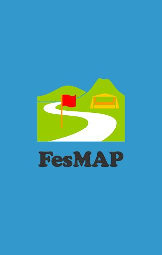 フェス・キャンプに便利な地図アプリ - FesMAP -