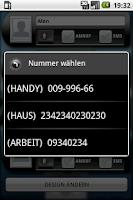 Screenshot of Contact Sidebar