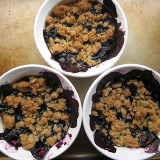 Blueberry Crumble.