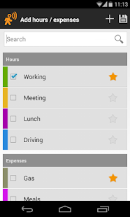 Timesheet - Mobile Worker - screenshot thumbnail