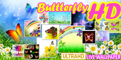 Butterflies live wallpaper