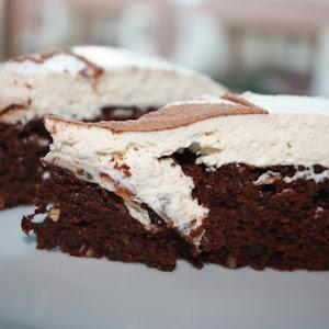 Chocolate Cake with Coffee Cream