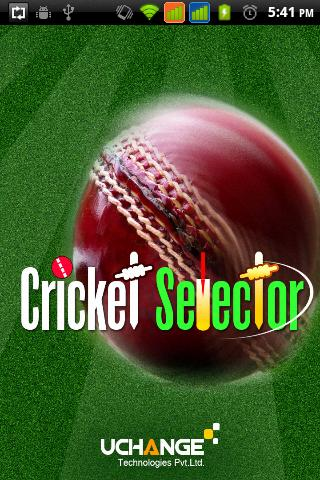 Cricket Selector - screenshot