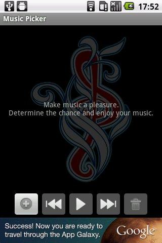 Music Picker - screenshot