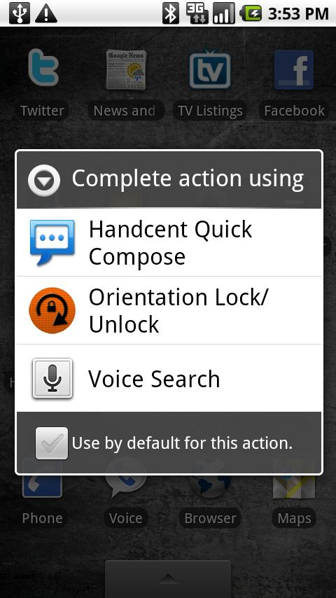 Orientation Lock/Unlock - screenshot