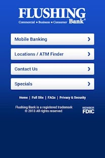 Flushing Bank Mobile Banking - screenshot thumbnail