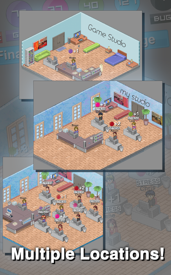 Game Studio Tycoon- screenshot