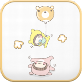 Babysitting go launcher theme