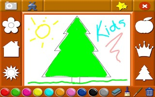 Screenshot of Coloring Games Preschool