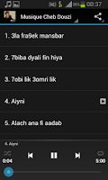Screenshot of Cheb Douzi MP3