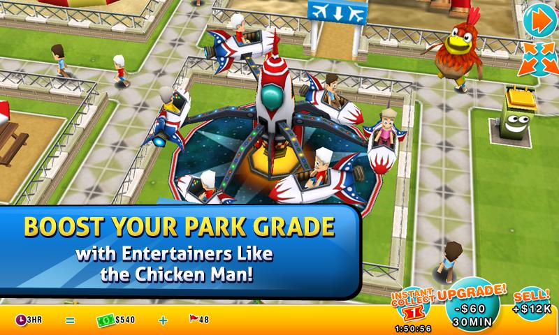 Theme Park - screenshot