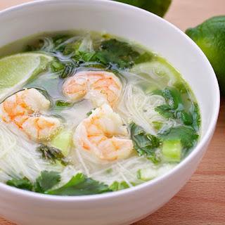 Thai Basil Noodle Soup.