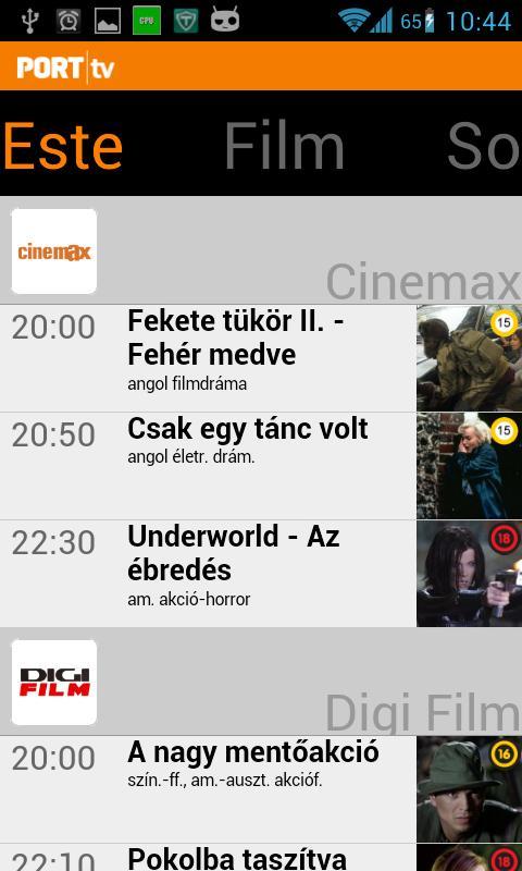 PORT TV- screenshot