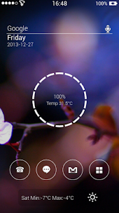 Translucent Theme Zooper Skin- screenshot thumbnail