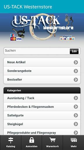 US-TACK Westernstore App