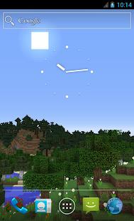 Sky Minecraft LWP