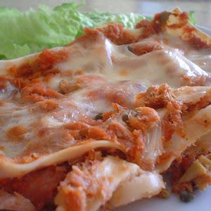 Smoked Tuna Lasagna