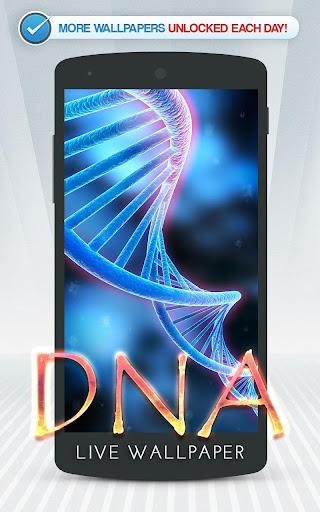 DNA Live Wallpaper