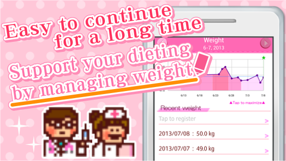 Woman's DIARY period・diet・cal - screenshot