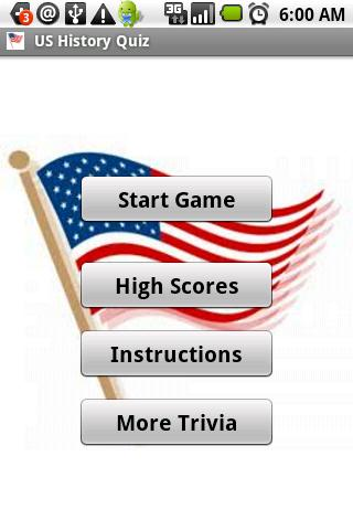 US History Quiz - screenshot