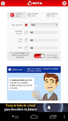 Calculadora IVA Chile - Lite