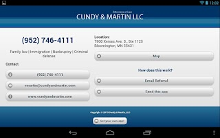 Screenshot of Cundy & Martin LLC