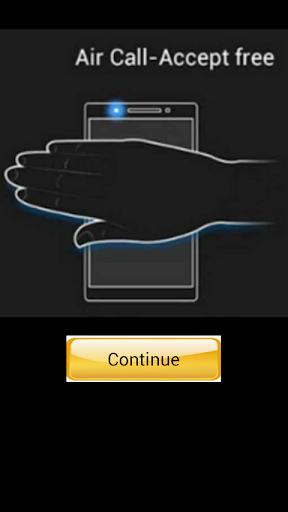 Air & Shake Panggilan Jawaban 4.1 screenshots 1