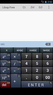Libop Calculator Free - screenshot thumbnail