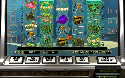 Fish Bowl HD Slot Machine - screenshot thumbnail