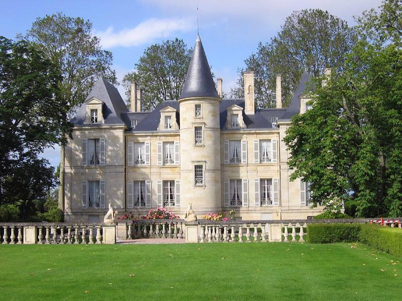 Pichon Lalande (also known as Château Pichon Longueville Comtesse de Lalande), a well-regarded winery near Pauillac in the Bordeaux region of France.