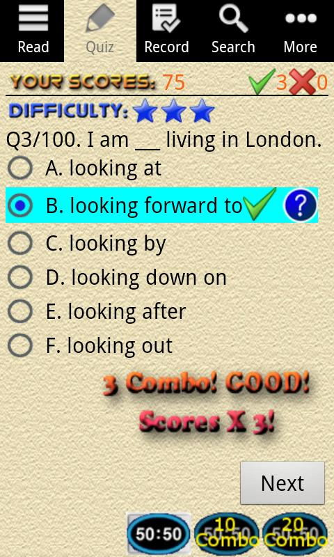 English Grammar – Phrasal Verb Screenshot 2