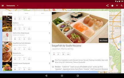 Zagat Screenshot 2