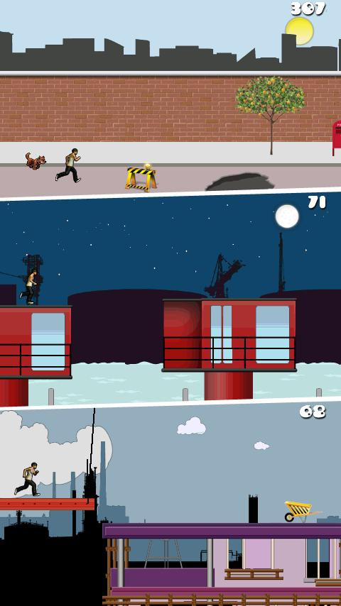 Parkour: Roof Riders Lite - screenshot