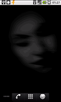 Screenshot of Ghosts Free Live Wallpaper