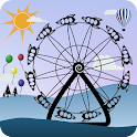 Amusement Park Live Wallpaper icon
