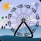 Amusement Park Live Wallpaper icon