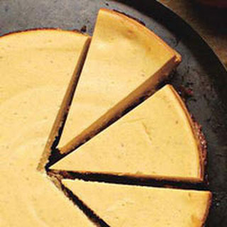 Pumpkin-Gingersnap Cheesecake