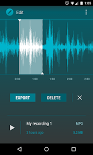 AudioField: MP3 Voice Recorder- screenshot thumbnail