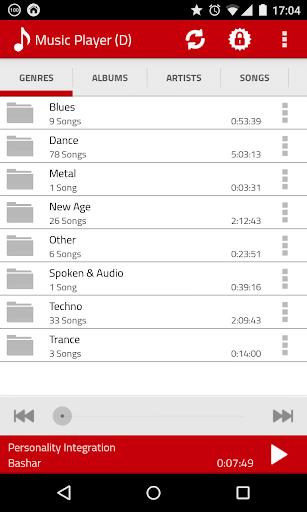 Folder Music Player Colorful