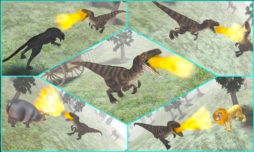 恐龙攻击3D模拟器