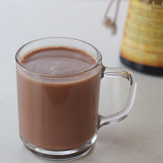 Chocolate Hazelnut Coffee Drink.