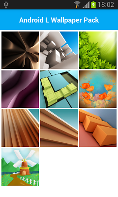 Wallpapers for Android L - screenshot