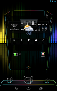 Next Launcher 3D Nex HD - screenshot thumbnail