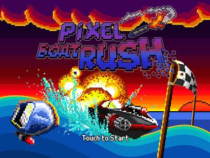 Pixel Boat Rush Screenshot 11