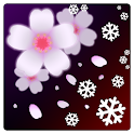 SAKURA Xmas Live Wallpaper icon