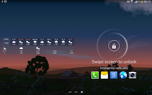 YoWindow Free Weather- screenshot thumbnail