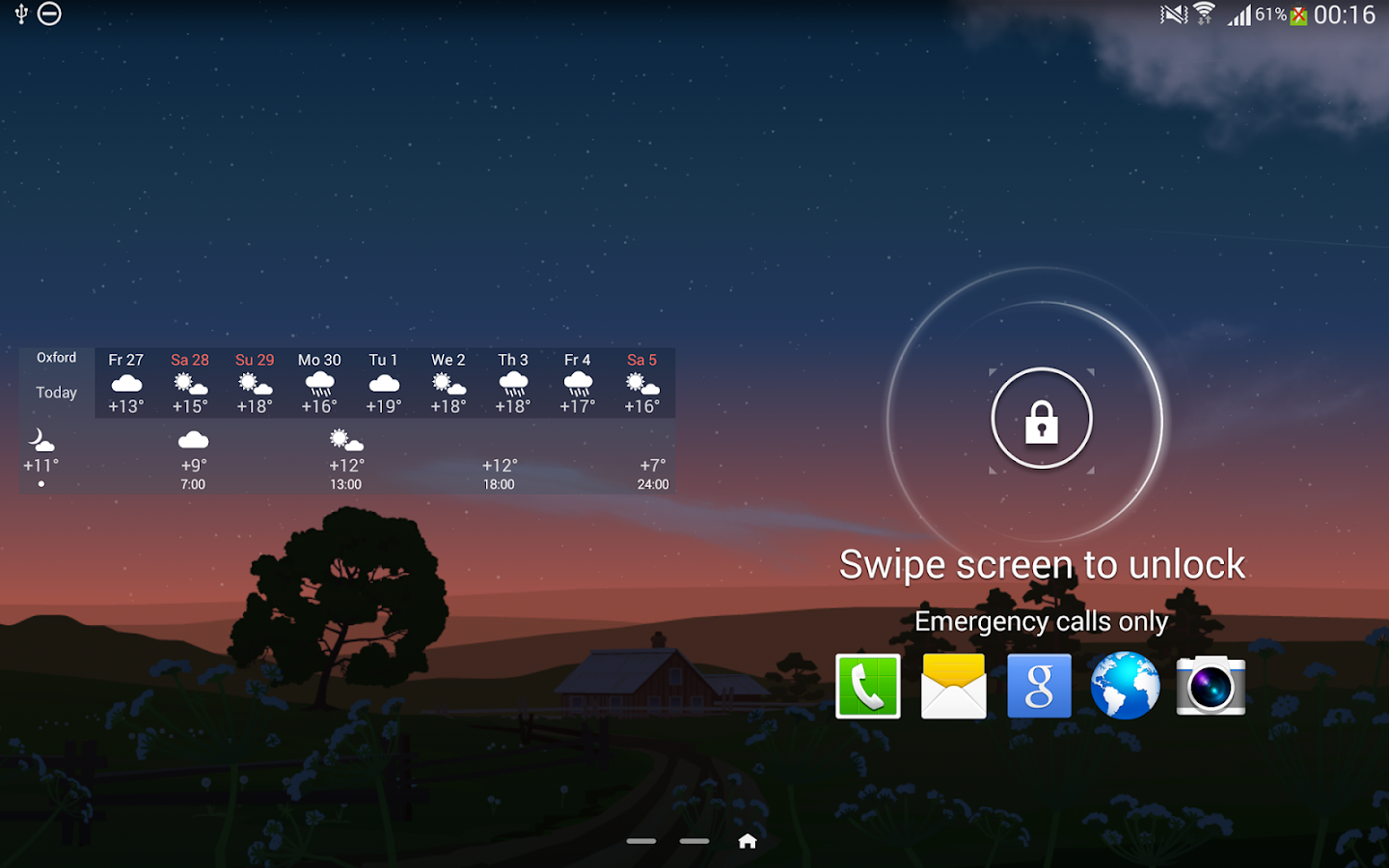 YoWindow Free Weather- screenshot